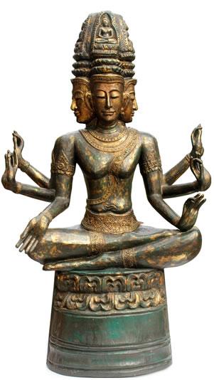 Brahma, schepper in het Hindoeïsme