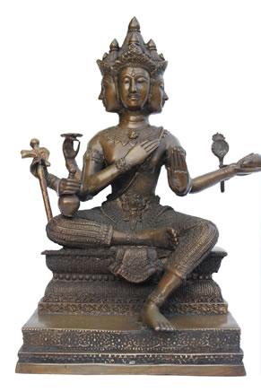 Brahma. schepper in het Hindoeïsme