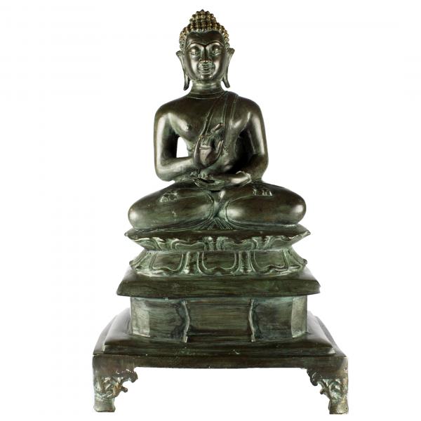 Lerende Boeddha in Vitarka mudra
