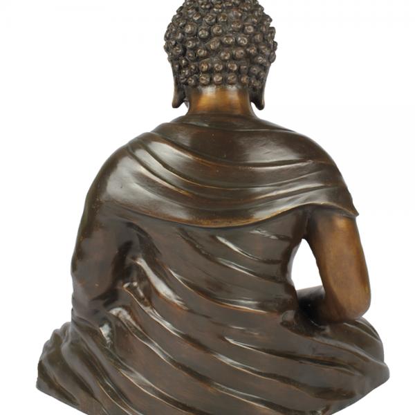 Achterzijde Japanse Zen Boeddha