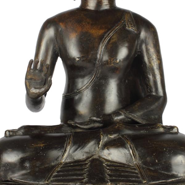 Detail Sukhothai Boeddha Abhaya Mudra