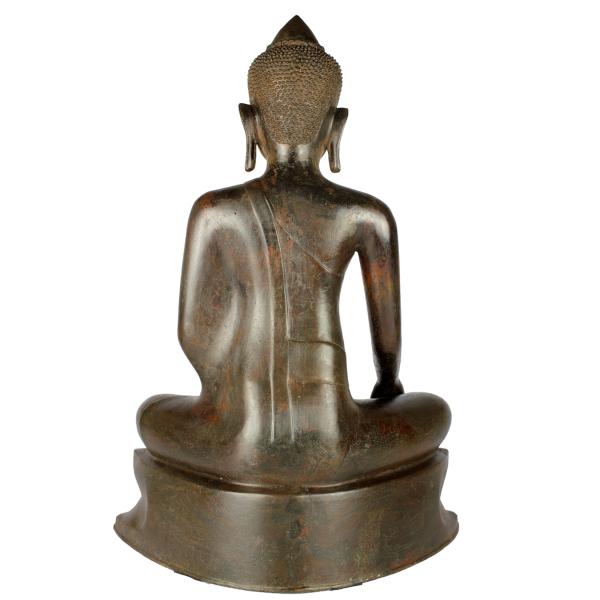 Achterkant Akshobhya Boeddha