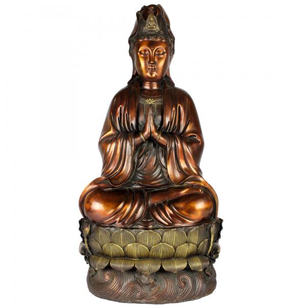 Zittende KwanYin Bodhisattva