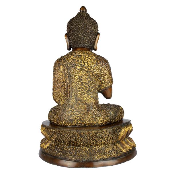 Achterkant Amogasiddhi Boeddha
