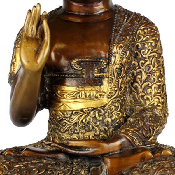 Detail Amogasiddhi Boeddha Abhaya Mudra