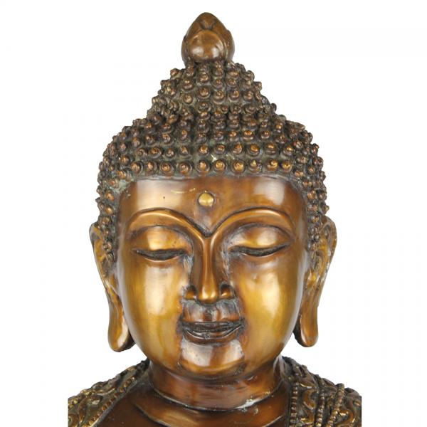 Het hoofd Amogasiddhi Boeddha