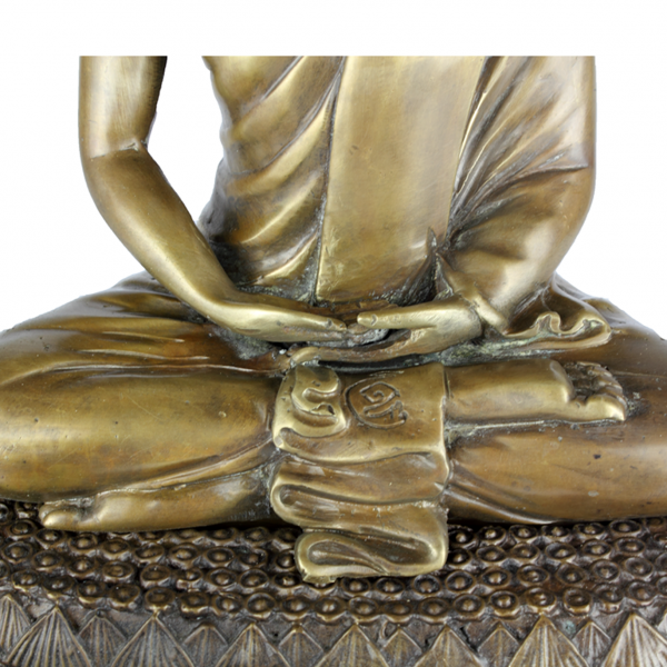 Detail Boeddha Amitabha in Dhyana Mudra
