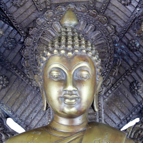 Hoofd van Boeddha Amitabha