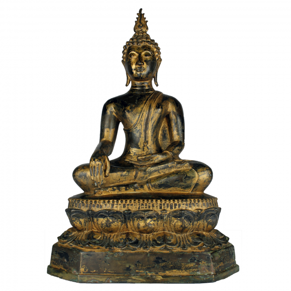 Boeddha Gautama in Bhumisparsa Mudra