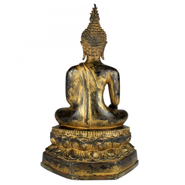 Achterkant Boeddha Gautama