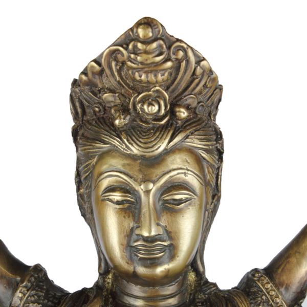 Detail van KwanYin hoofd