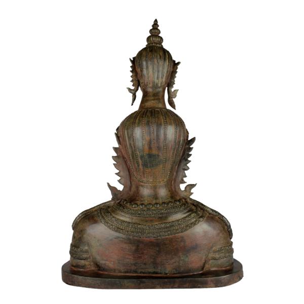 Achterkant van de duo Boeddha