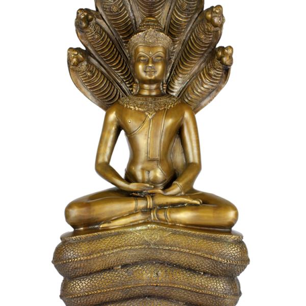 Amitabha beschermd door Naga
