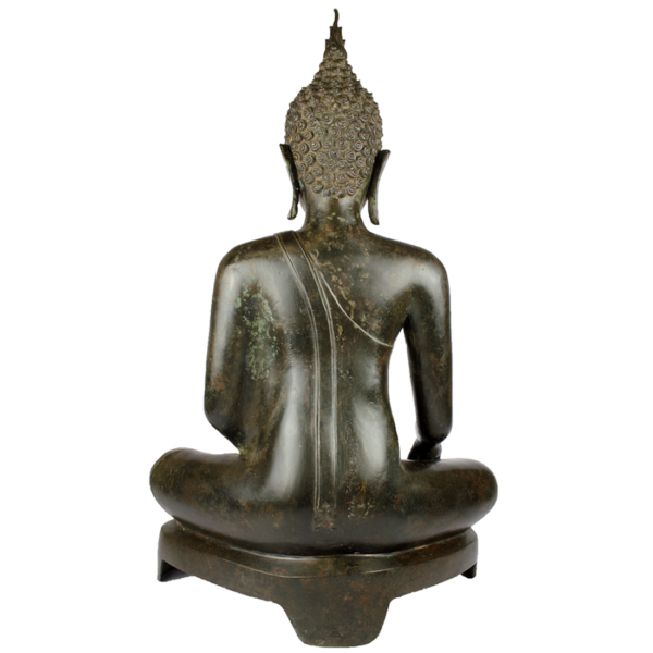 Achterkant van Boeddha Gautama