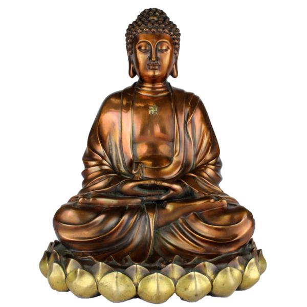 Boeddha Amida in Dhyana mudra