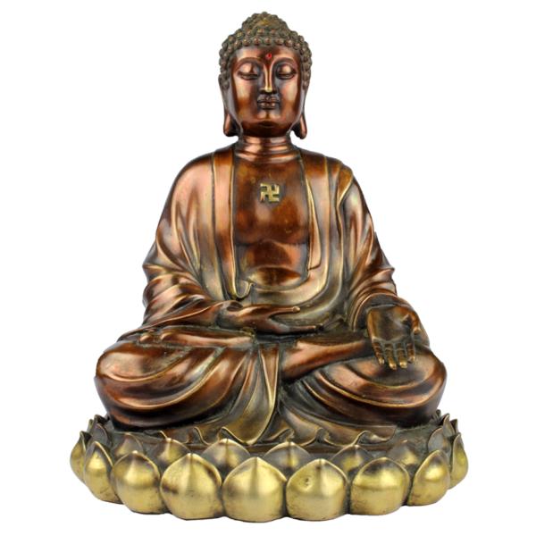 Ratnasambhava Boeddha in Varada mudra