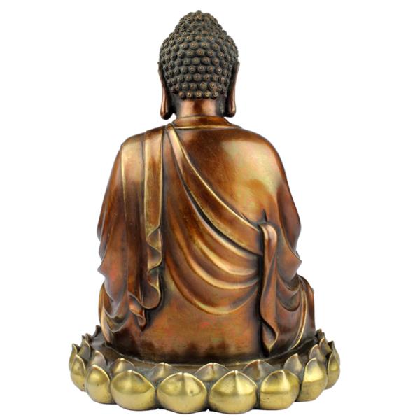 Achterkant van Ratnasambhava Boeddha