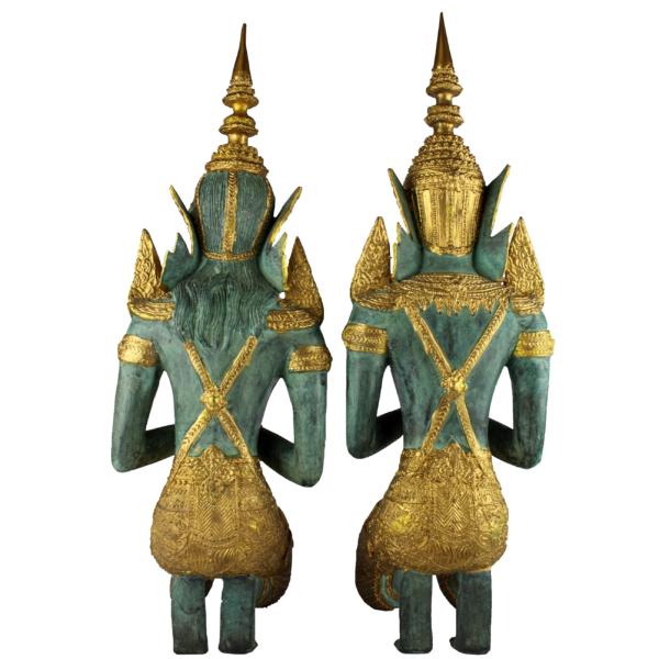 Achterkant Thep Phanom tempelwachters