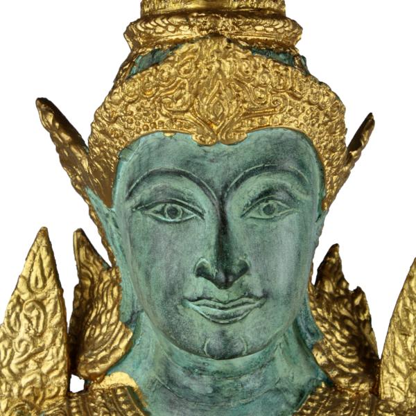 Hoofd van vrouwelijke Thep Phanom tempelwachter