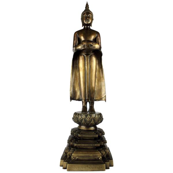 Staande Boeddha met bedelnap