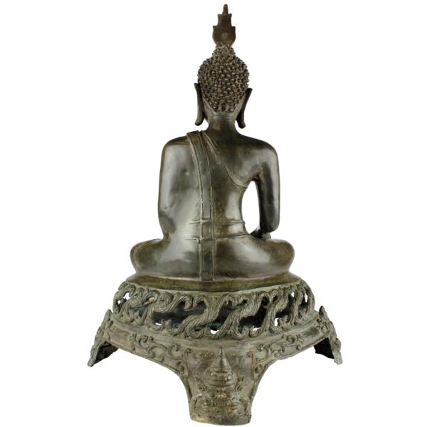 Achterkant van Sukhothai Boeddha Akshobhya
