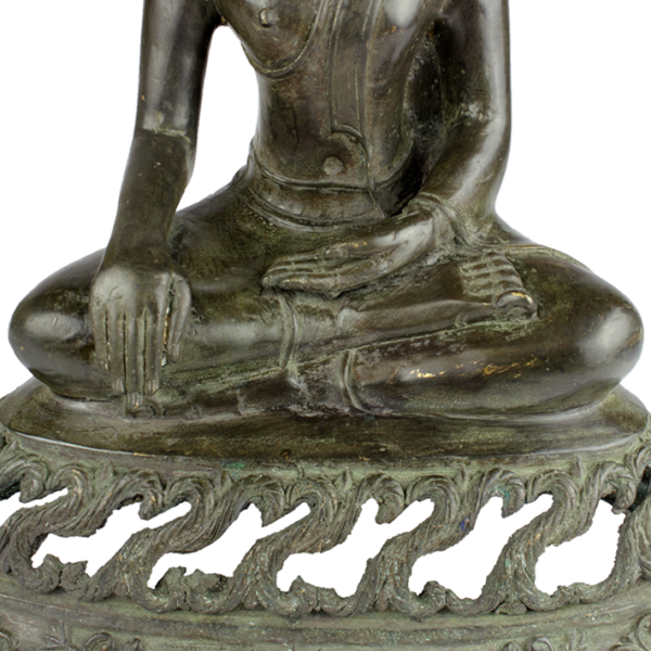 Bhumisparsa mudra van Boeddha Akshobhya