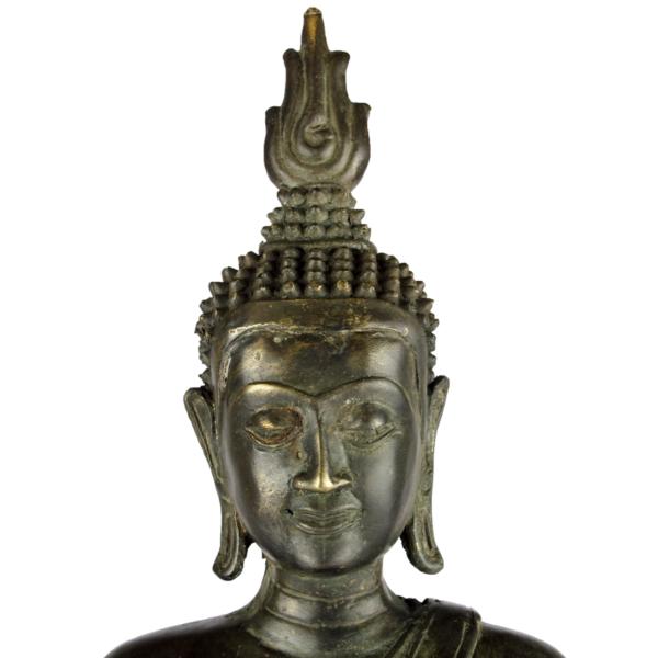 Close-up hoofd van Boeddha Akshobhya