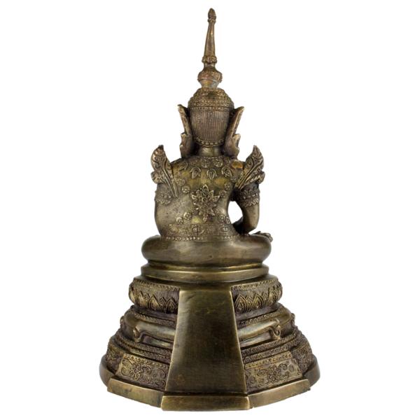 Achterkant van Sukhothai Boeddha Amitabha