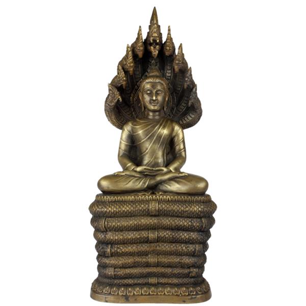 Sukhothai Boeddha Amitabha met Naga