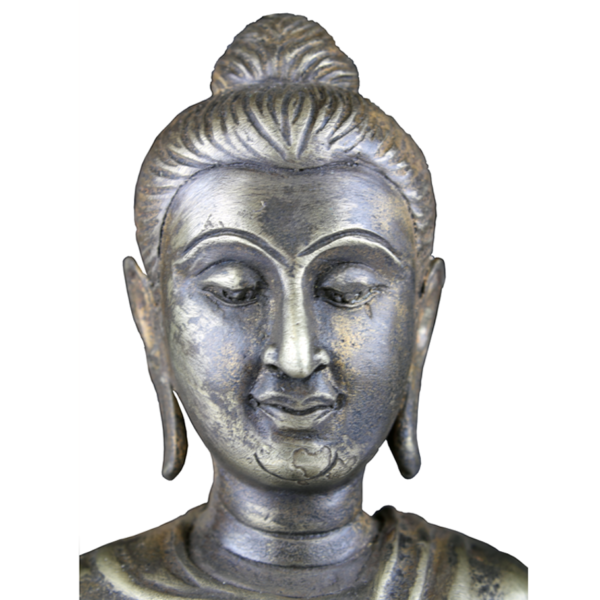 Close-up hoofd van Amitabha Boeddha