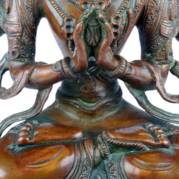 Boeddha Sadaksari Lokeshvara met Cintamani