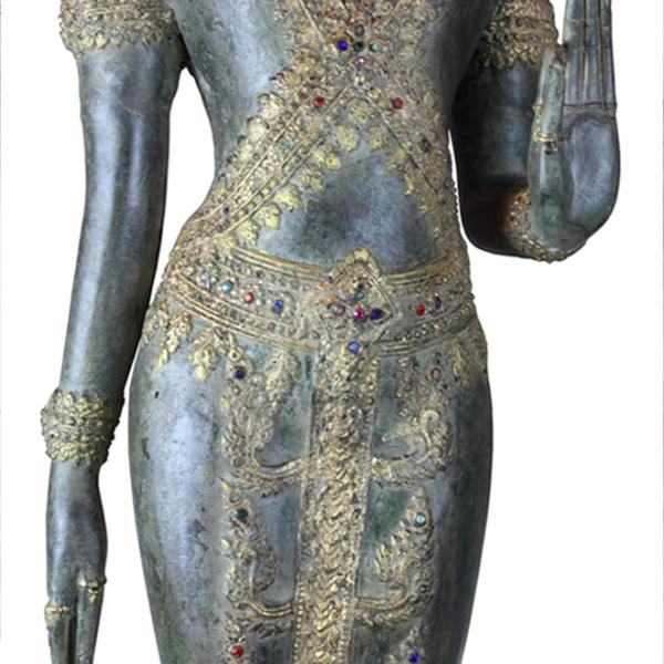 Mudra's van Boeddha in loopmeditatie