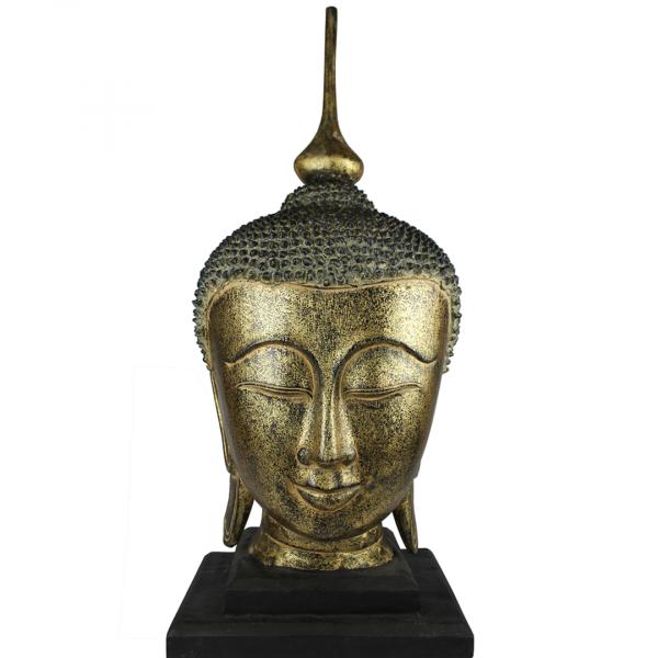 Voorzijde Sukhothai Boeddhahoofd