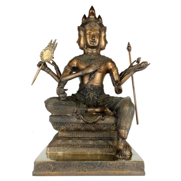 In het Hindoeïsme is Brahma de Schepper