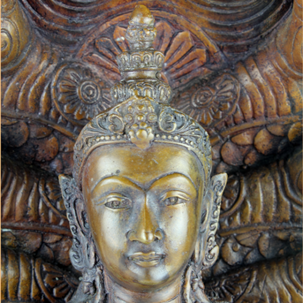 Hoofd van Amitabha
