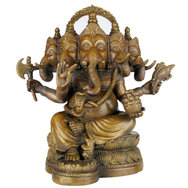 Ganesha met de vijf hoofden