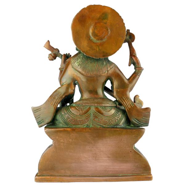 Achterkant van Shiva