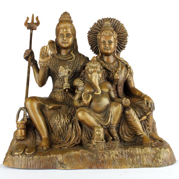 Shiva, Parvati en Ganesha