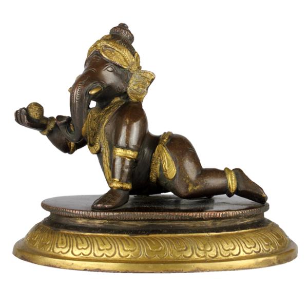 Kruipende Baby Ganesha