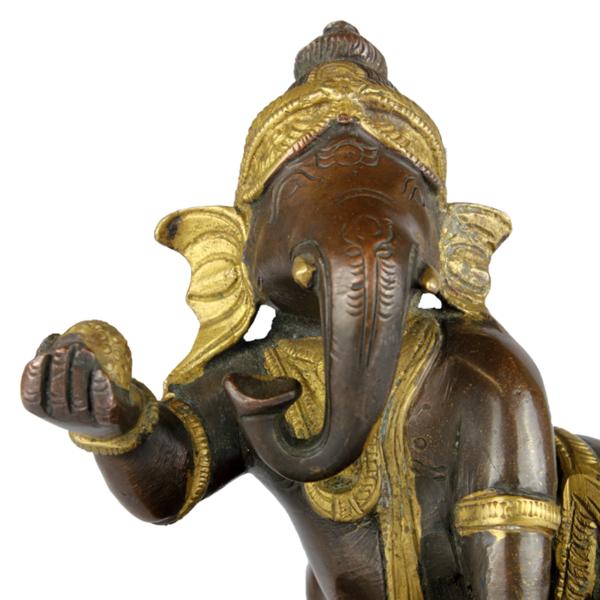 Close-up hoofd Baby Ganesha