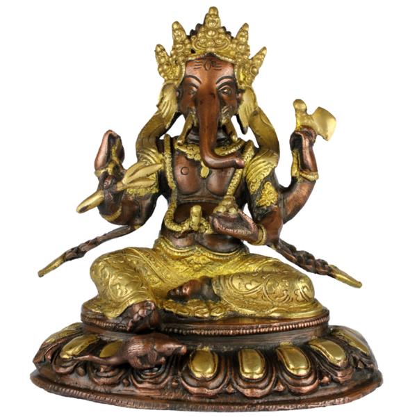 Ganesha met vier handen